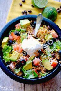 tacos de quinoa