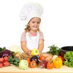 Cocina y alimentación sana para niños.