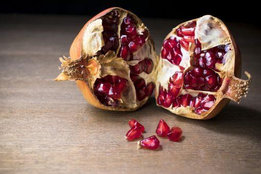 Granada, frutas