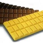 Los tipos de chocolate